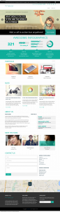 flatone wordpress flat theme